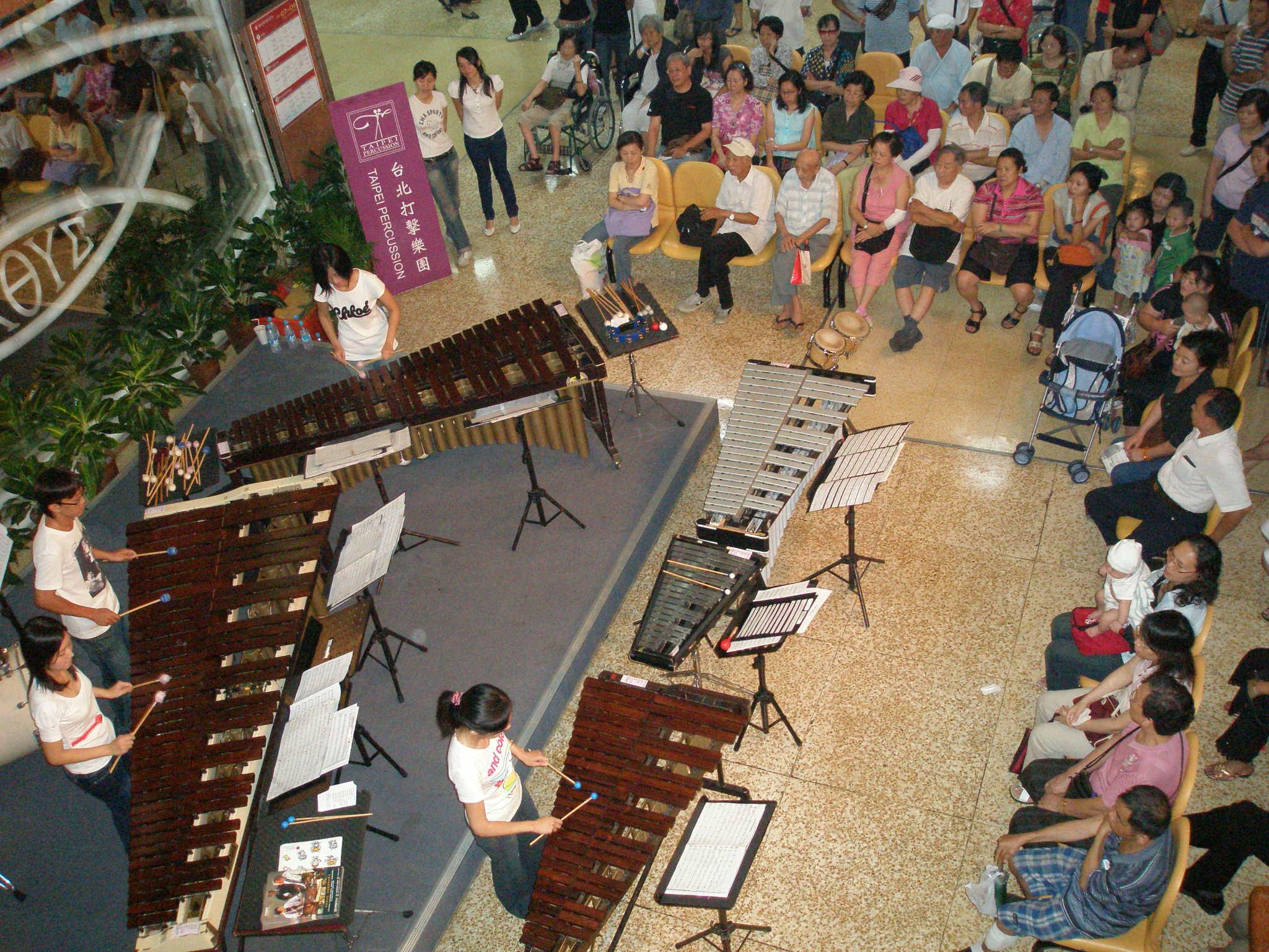 福音廣場-樂器演奏